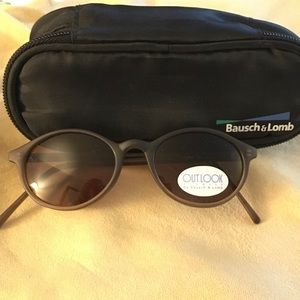 Bausch & Lomb sunglasses new with soft case